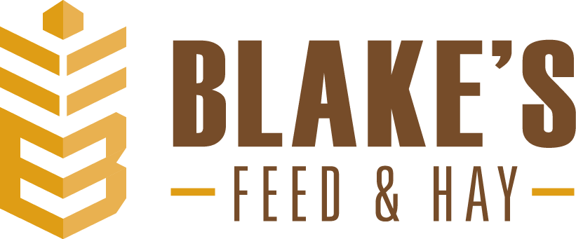 Blake's Feed & Hay bails on previous generic identity
